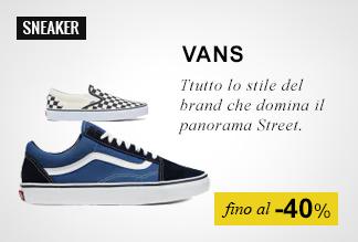 Sneaker fino a -50%