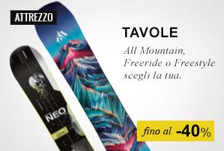 Snowboard fino a -50%