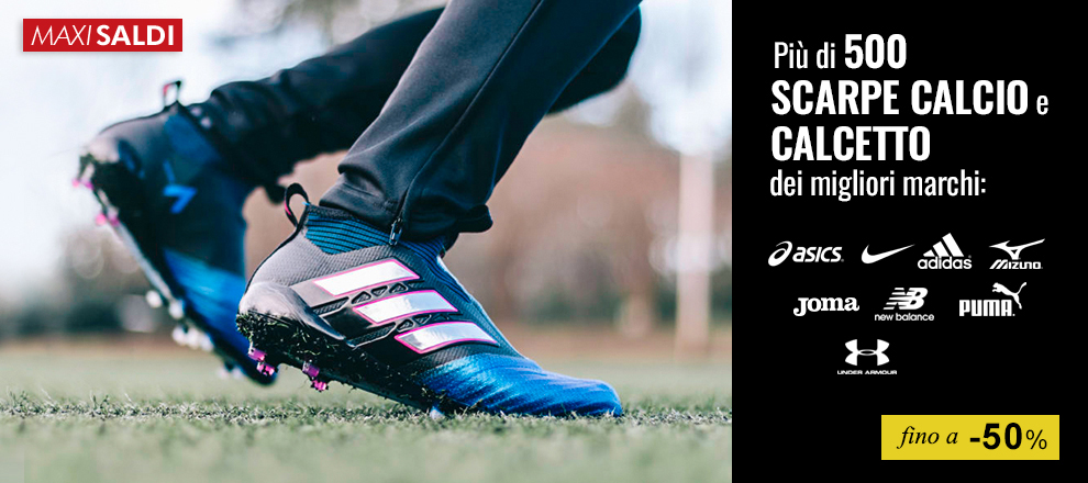 Maxi Saldi Più di 500 scarpe calcio fino a -50%