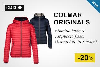 Piumino leggero cappuccio fisso Colmar Originals -20%