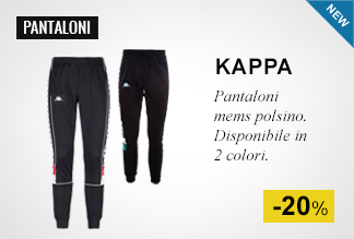 Pantaloni mems polsino Kappa -20%