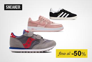Sneaker Bambino fino al -50%