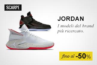 Scarpe basket Nike Jordan fino a -50%