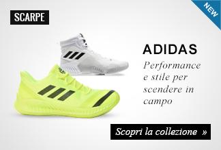 Nuova collezione scarpe basket Adidas
