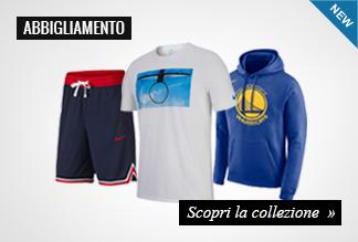 Nuova collezione abbigliamento basket