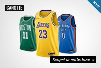 Nuova collezione canotte basket