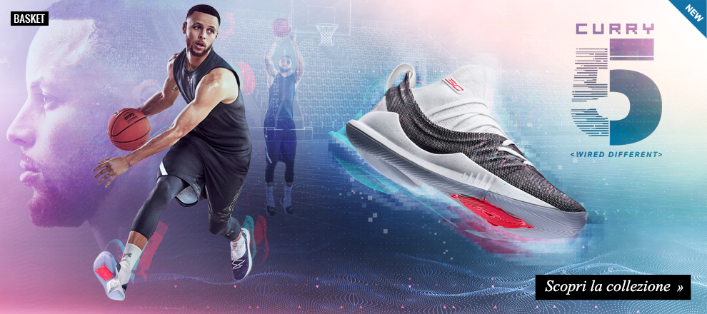 Scarpe basket Under Armour Curry 5
