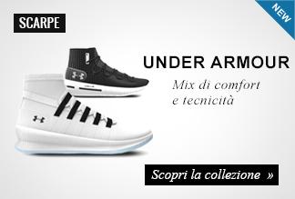 Nuova collezione scarpe basket Under Armour