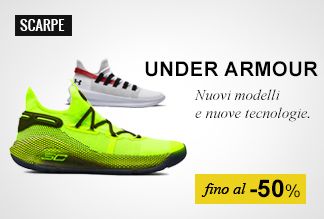 Scarpe Basket Under Armour fino al -50%