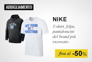 Abbigliamento Nike fino al -50%
