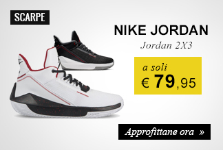Scarpe Nike Jordan 2x3 a soli € 79,95