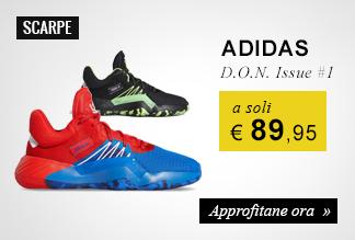 Scarpe Adidas D.O.N. Issue #1 a soli € 89,95