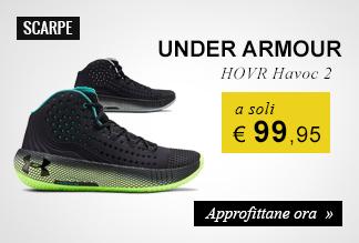 Scarpe Under Armour HOVR Havoc 2 a soli € 99,95