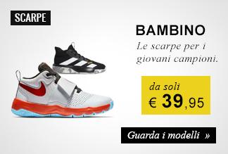 Scarpe basket bambino da soli € 39,95