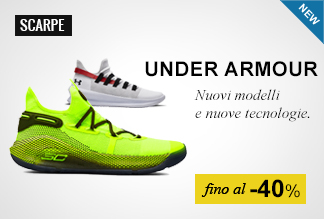 Scarpe Basket Under Armour fino al -40%