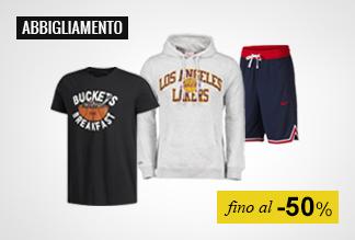 Abbigliamento Basket fino al -50%