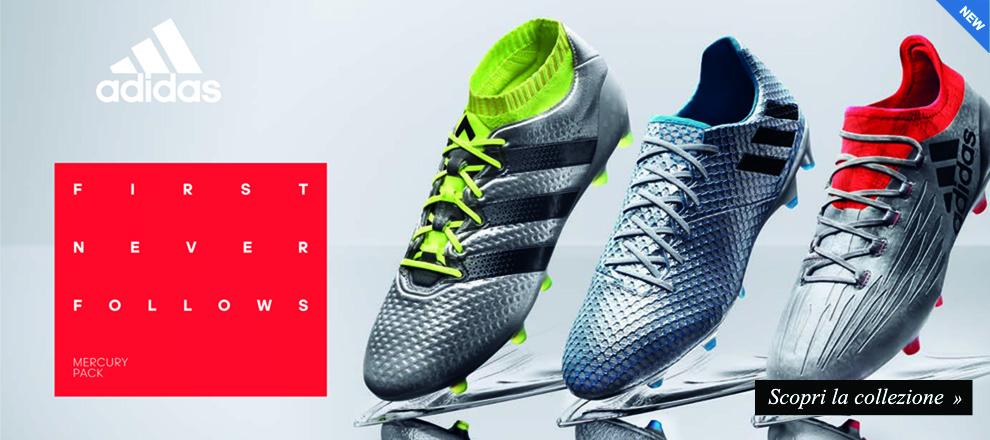 Nuova collezione Adidas Mercury Pack