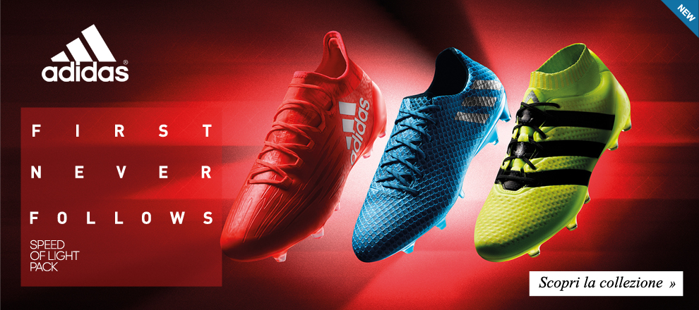 Nuova collezione Adidas Speed Of Light Pack