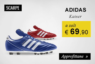 Scarpe calcio adidas Kaiser soli €69,90