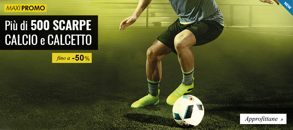 Maxi Promozioni Più di 500 scarpe calcio fino a -50%