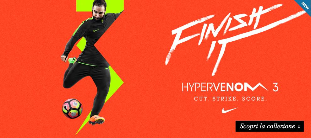 Nuova collezione scarpe calcio Hypervenom 3