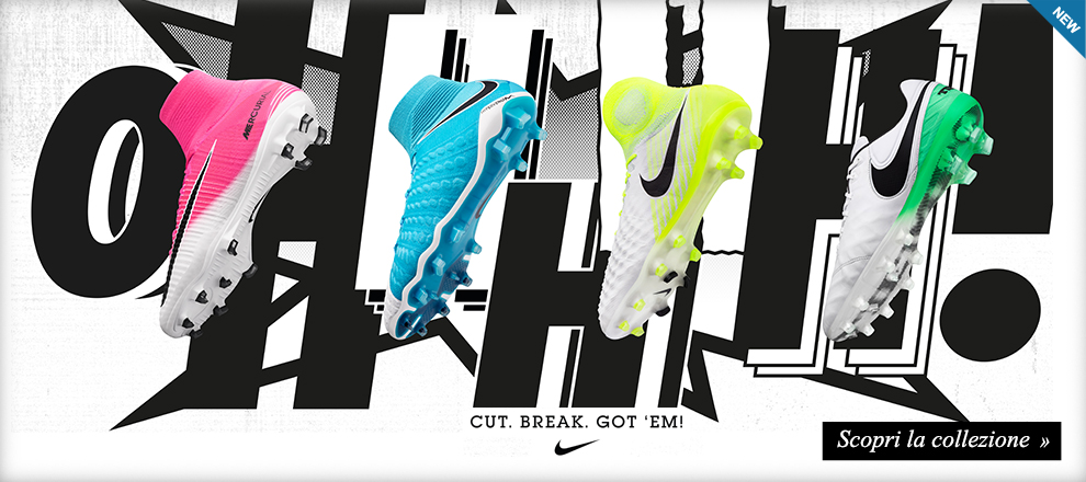 Nuova Collezione Nike Calcio