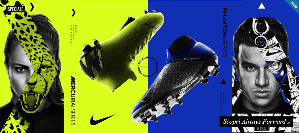 Nuova scarpa calcio Nike Always Forward