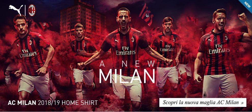 Nuova Maglia AC Milan 2018/19