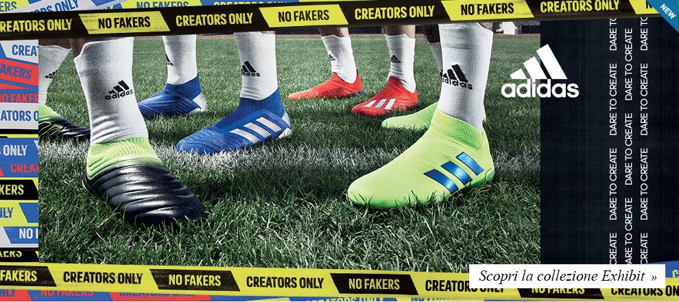 Scopri la nuova collezione scarpe calcio adidas Exhibit Pack