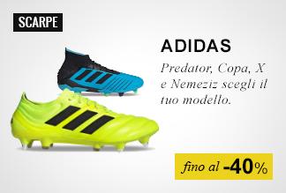 Scarpe calcio Adidas fino -40%