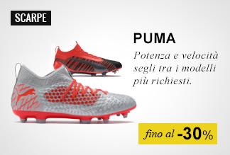 Scarpe calcio Puma fino -30%
