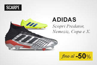 Scarpe Calcio Adidas fino al -50%