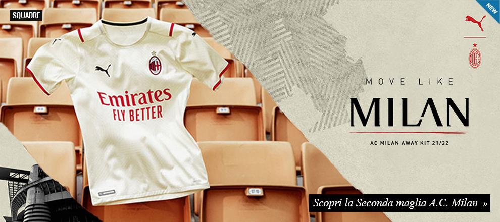 Nuova maglia Milan 21/22