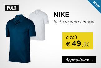 Polo Nike a soli 49,50 euro