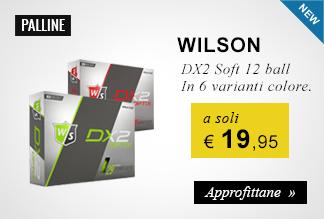 Palline Wilson a 19,95 euro