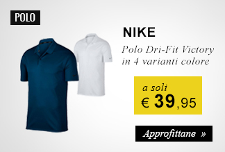 Polo Nike Golf a soli 39,95 euro