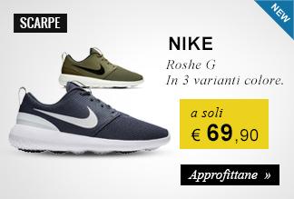 Scarpe Nike Roshe G a 69,95 euro