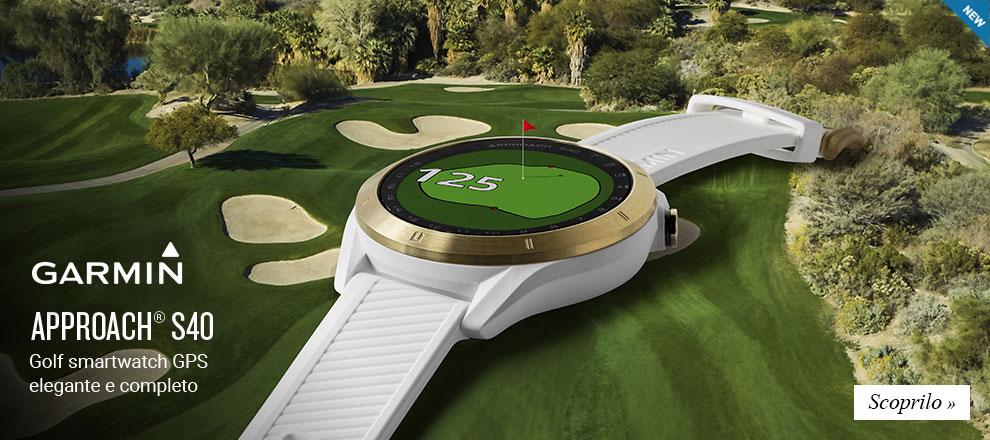 Collezione Golf Garmin Approach S40