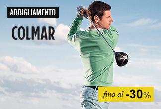 Abbigliamento golf fino -50%