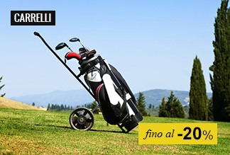 Carrelli golf fino -20%
