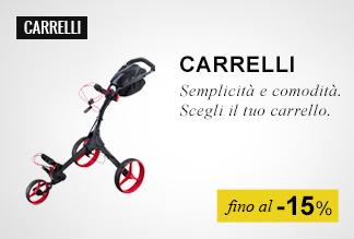 carrelli golf fino al -15%
