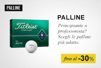 palline golf fino al -30%