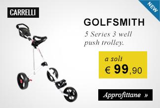 Golf carrelli Golfsmith a 99,90 euro