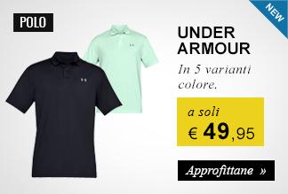 Polo Under Armour a 49,95 euro