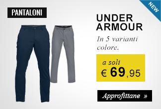 Pantaloni Under Armour a 69,95 euro