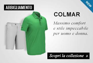 Collezione Abbigliamento golf Colmar