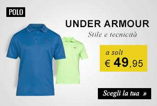 Polo Under Armour a soli € 49,95