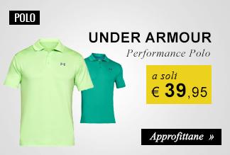 Polo Under Armour a soli € 39,95