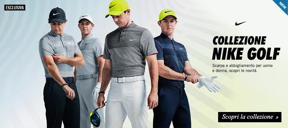 Collezione Nike Golf: scarpe e abbigliamento