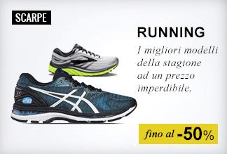 Maxi Saldi Scarpe running
